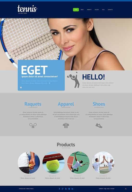 tennis-responsive-wordpress-theme