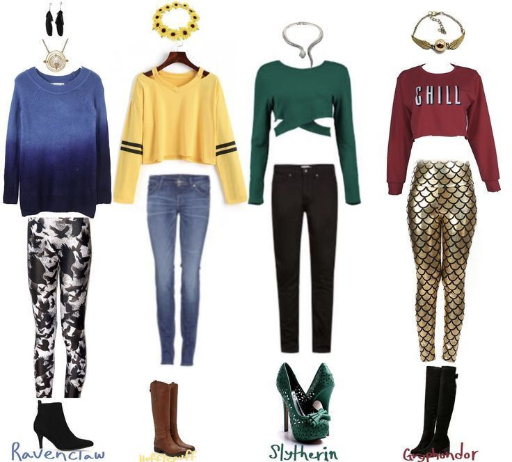 Hogwarts House Outfits Hufflepuffs Outfit Is The Best But I M A Ravenclaw Hogwarts House Huffl Harry Potter Dress Harry Potter Outfits Harry Potter Style