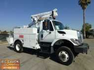 2008 #INTERNATIONAL 7300 $43,500.00 US #Bucket #Truck, MaxxforceDT #Diesel, Allison #Automatic, 4x4, Altec AT37-G Articulating & #Telescoping Boom, 42' #Working Height, 350lb Capacity, Upper & Lower #Controls, 12' Utility Bed, Inverter, Curbside/Roadside 120v GFI Outlets, #Hydraulic Tool Circuit, Spider Reel, WARN 12,000Lb Front Bumper Winch, 2 #Speed #Tansfer Case, Differential Lock, #Power #Windows, Power #Lock, Power #Mirrors, #Engine #Brake, #Cruise Control, 25,999 GVW, NO CDL Required…