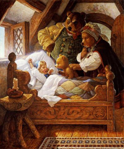 Goldilocks and the Three Bears | 11 Fairytales You Loved As A Child That Are Actually Really Creepy