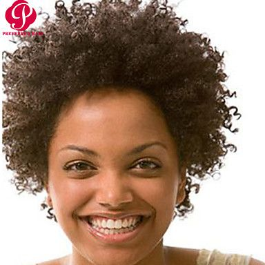 Fashion+10-28inch+Kinky+Afro+Curly+Natural+Color+100%+Brazilian+Human+Hair+Wig+Lace+Front+Wigs+–+USD+$+89.59