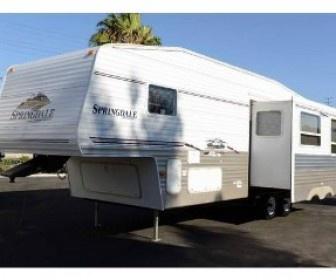 Used 2007 #Springdale 283  #Fifth_wheel RV @ http://www.shop-rvs.com/used-rvs/2007/fifth-wheel/springdale/283/5850/