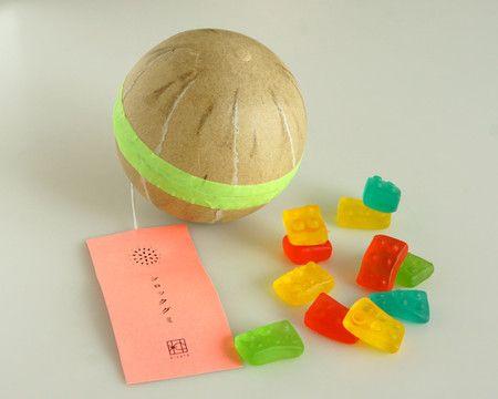 花火玉お菓子 ブロックグミ / Gummy Candy