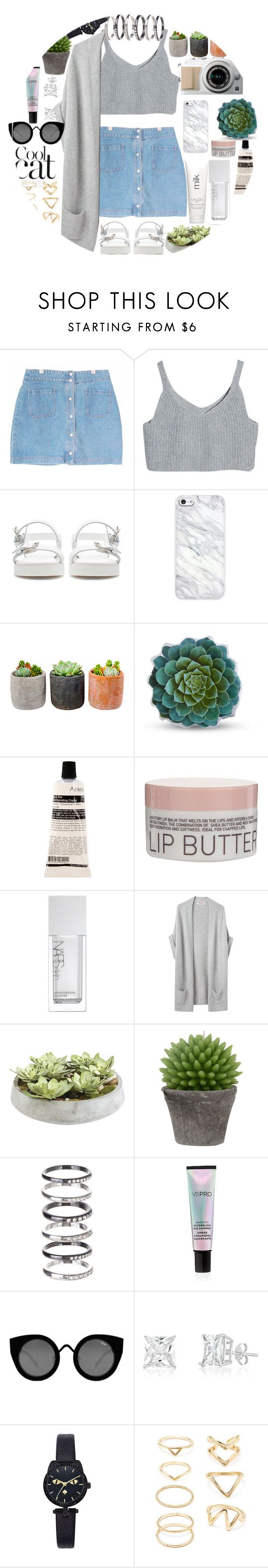 """""""Going out  outfit"""" by infinityforever25 ❤ liked on Polyvore featuring Zara, Shop Succulents, Dot & Bo, Aesop, Korres, NARS Cosmetics, Organic by John Patrick, H2O+, Ethan Allen and Broste Copenhagen"""