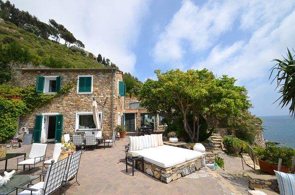 Ferienhaus (Villa) direkt am Meer in Ligurien La Conca