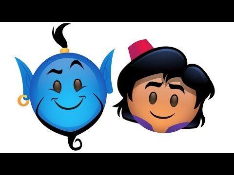 Aladdin as told by Emoji | Oh My Disney - YouTube