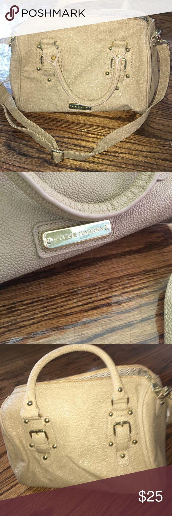 Steve Madden Purse Cream gold Steve Madden Bags
