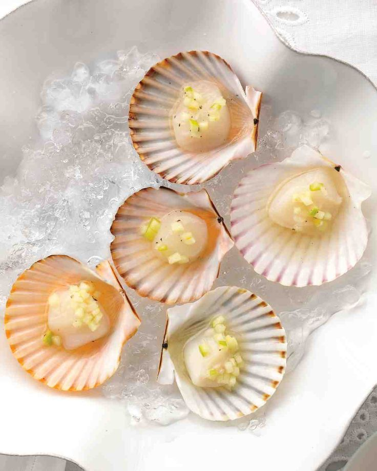 An alternative to tried-and-true oysters (and every bit as irresistible), these shellfish make a splash with green-apple mignonette.