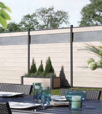 die besten 25 wpc zaun ideen auf pinterest. Black Bedroom Furniture Sets. Home Design Ideas