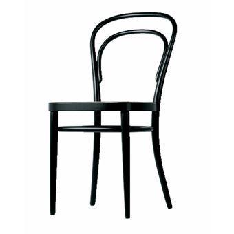 De Thonet 214 stoel is een absoluut stijlicoon. De beroemde Weense koffiehuisstoel is door designers en architecten betiteld tot meest succesvolle fabrieksproduct ter wereld. De stoel is te zien in vele koffiehuizen en barretjes en staat ook geweldig in menig interieur!