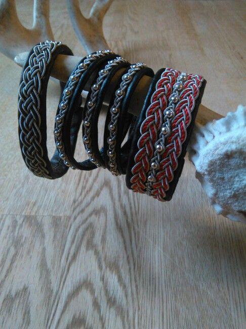 Några av mina armband