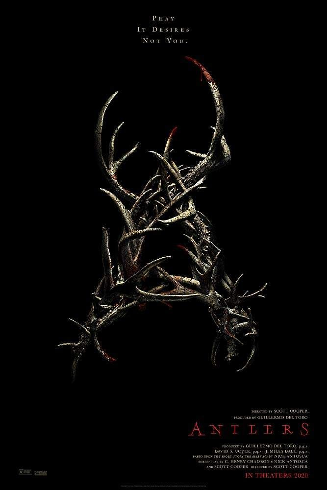 Antlers 2021 New Horror Thriller Dir Scott Cooper Free Movies Online Streaming Movies Free Full Movies