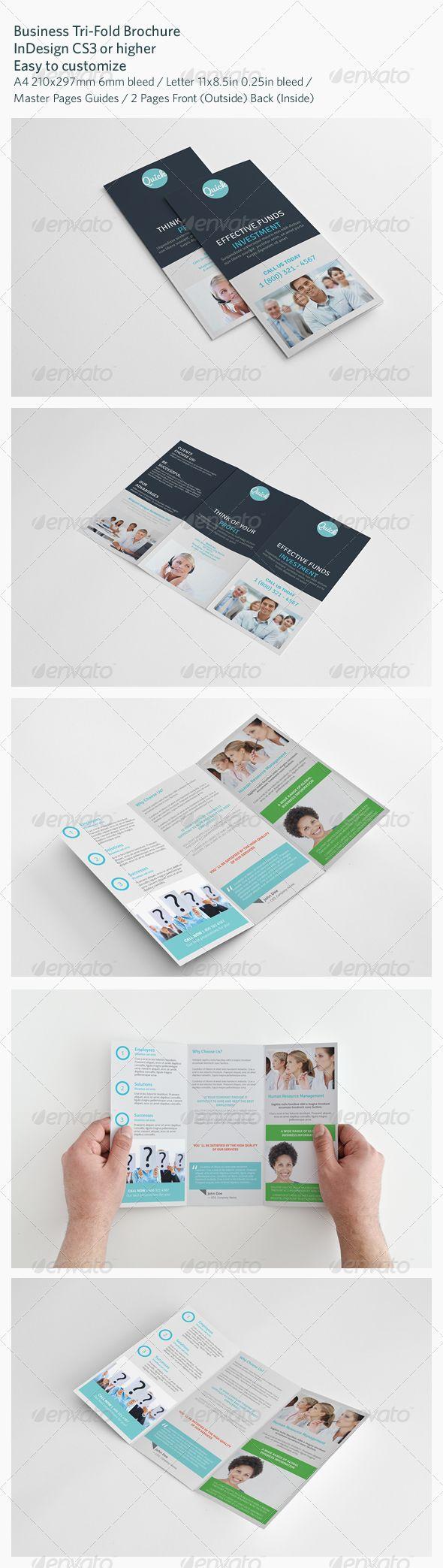 Business Tri Fold Brochure 173 best Print Templates