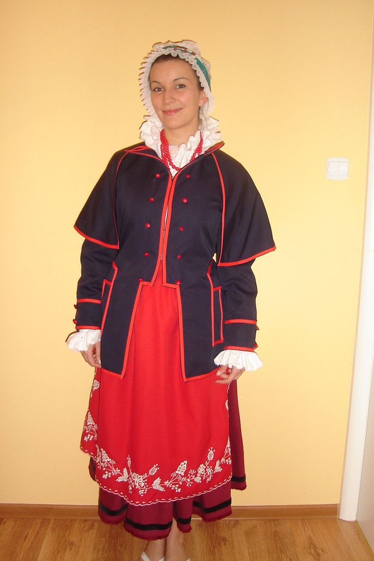 Strój kujawski damski