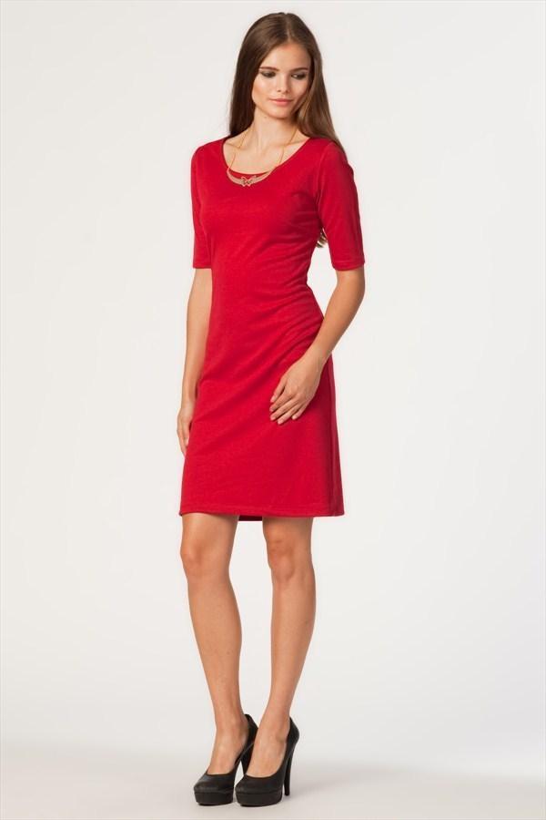 3318 Geometrik Kesimli Elbise #elbise #kırmızıelbise #dress http://www.primedays.com.tr/pinfo.asp?pid=883