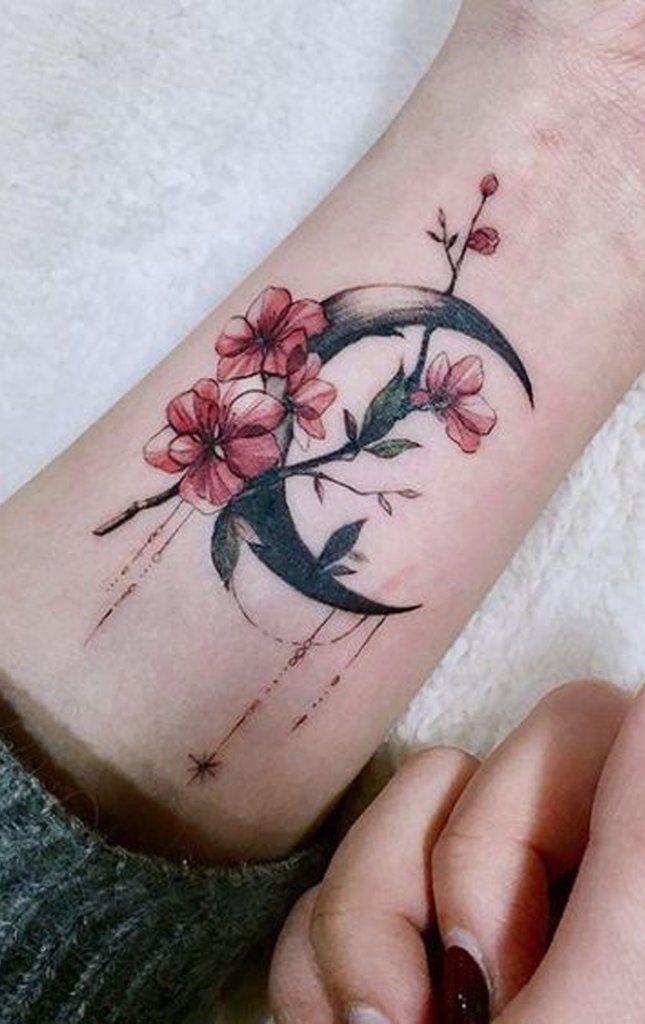30 Delicate Flower Tattoo Ideas – #cherryblossom #…