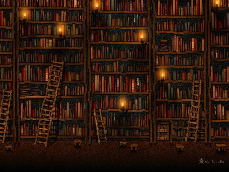Biblioteca de Google · Fondos de Pantalla · Vladstudio