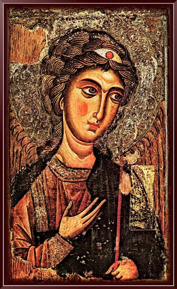 Αρχάγγελος Μιχαήλ Χρονολογία κατασκευής: - Ανακαίνιση:12ος αιώνας Ευρισκόταν στην ιερά Μονή Ιωάννη Χρυσοστόμου (Κύπρος) στον κατεχόμενο Κουτσοβέντη. Η εικόνα κλάπηκε το 1974 από τους Τούρκους και αγνοείται...