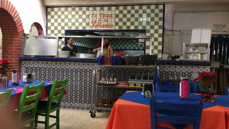 La poblanita, cocina
