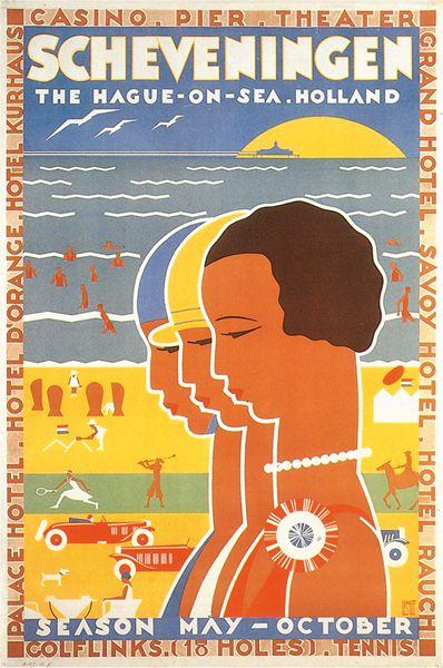 Louis Kalff, Travel Poster, Netherlands, n.d.