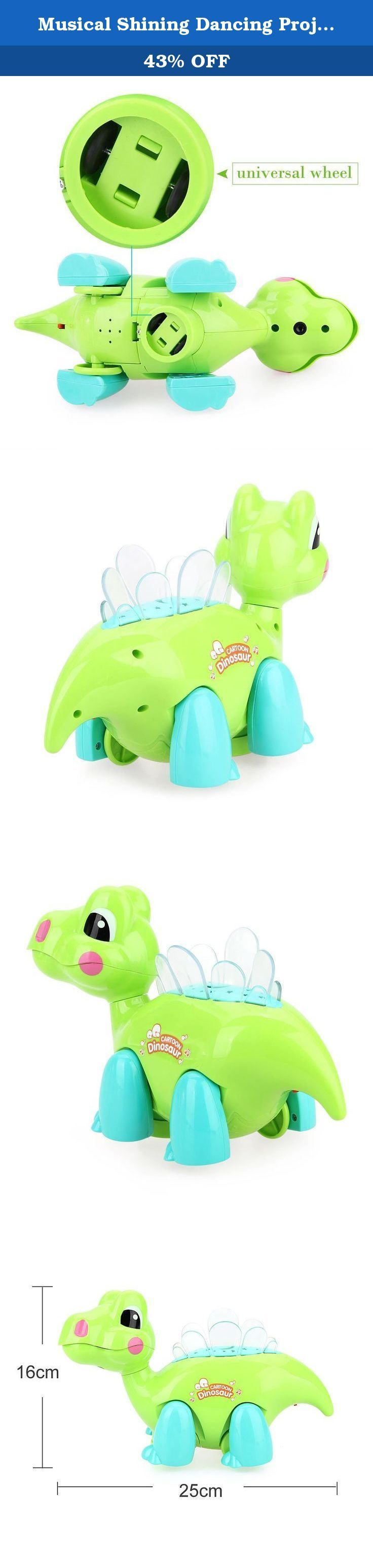 Musical Shining Dancing Projector Cartoon Dragon Educational Toys Kids Baby Gift. Brand:NEW.Colour:Green.Material:ABS.Dinosaur Toys *1. Description 1. Environmental resistance to slam the ABS material, wear-resistant and easy to clean, high strength not easily scratched, smooth surface cleaning. 2. Blunt human design, prevent the use of children in the process of scratching the skin, use a more secure. 3. The feature-rich, played a unique, beautiful songs, limb walking, smart universal...