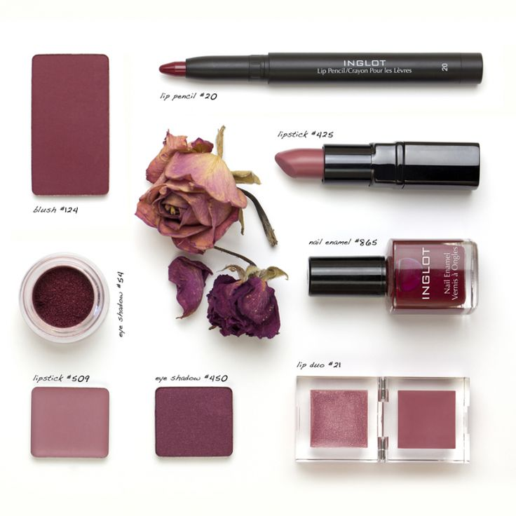 Inglot Cosmetics | Pantone Marsala - My Newest Addiction Beauty Blog