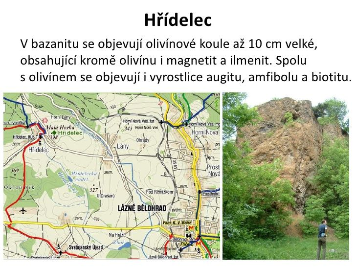 Horniny a mineraly Jestedske oblasti