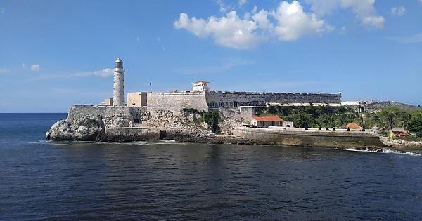 Morro Castle at the entrance of the Port of Havana Cuba.