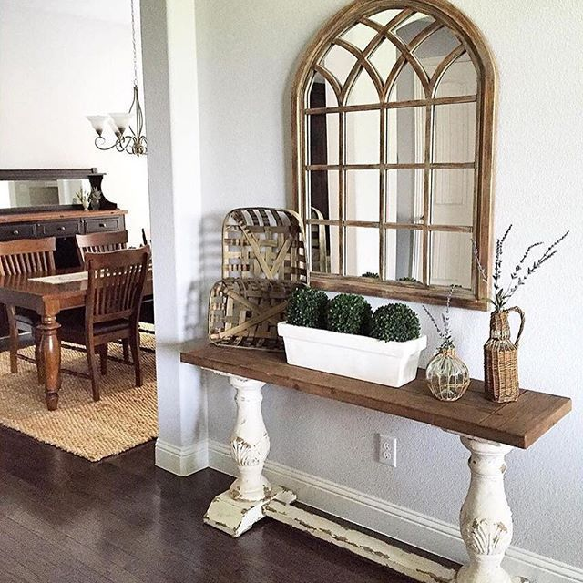 15 Entrance Hall Table Styles To Marvel At: Best 25+ Cathedral Mirror Ideas On Pinterest