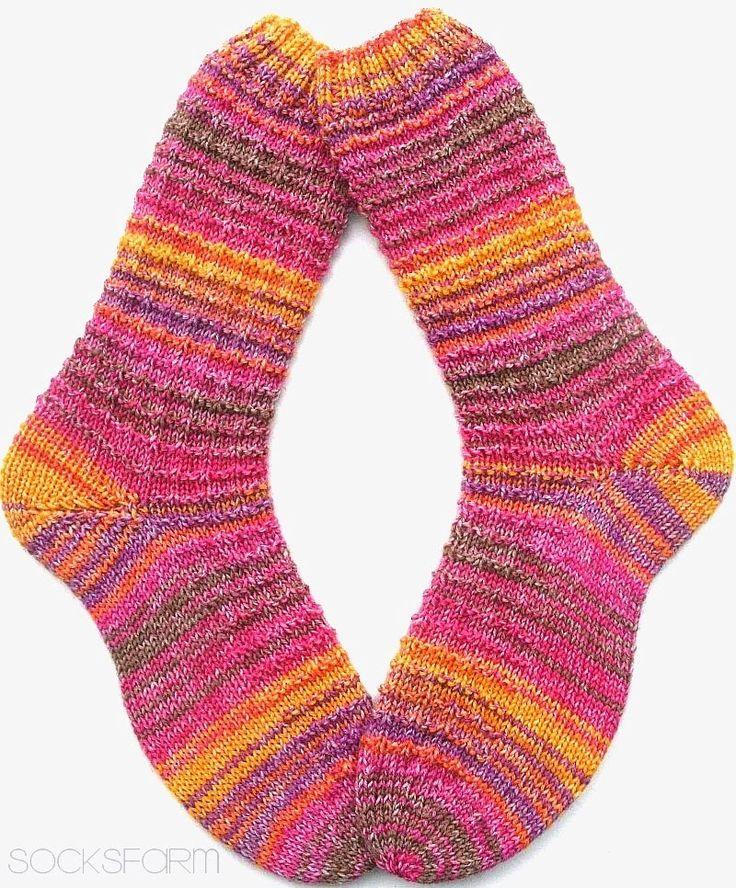 Da leuchten doch die Augen der Mädels... Einmal lange Socken für meine Freundin Andrea.. ...und weil noch soviel Wolle übrig g...