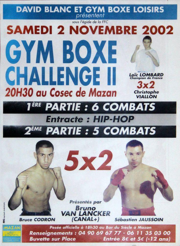 II #GymBoxeChallenge 2002 Fullcontact Mazan