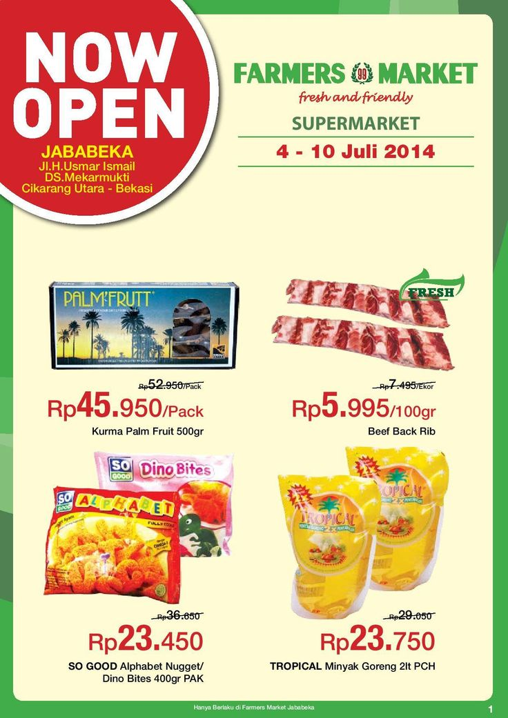 Farmers 99 Market: Promo Long Weekend (Jababeka) @farmers99market