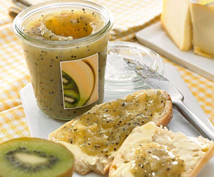 Recept džem z kiwi a banánů od Vorwerk vývoj receptů - Recept z kategorie Marmelády a sladké pomazánky