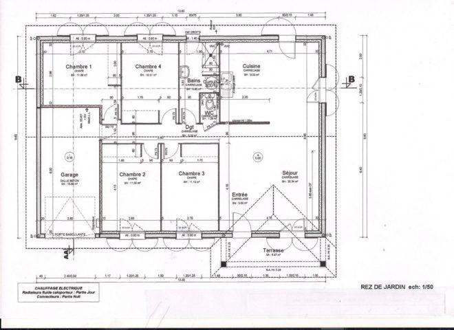 Plan Maison En U Avec Piscine Au Milieu Maison Plan En 2020