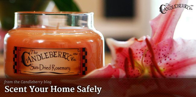 Candleberry Candles | Candleberry Blog - Scent Your Home Safely - Learn more: https://candleberry.com/about/blog/about-candleberry/scent-home-safely/