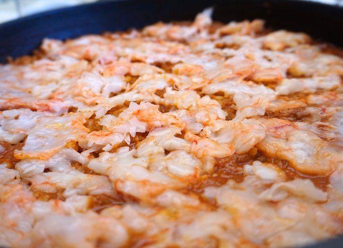 Arroz meloso de langostinos para #Mycook http://www.mycook.es/cocina/receta/arroz-meloso-de-langostinos