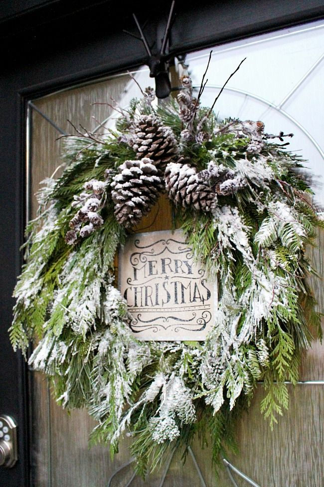 c15a2e98cbf03d99e70d823d463d6ac5 DIY Fresh Christmas Wreath   Clean and Scentsible