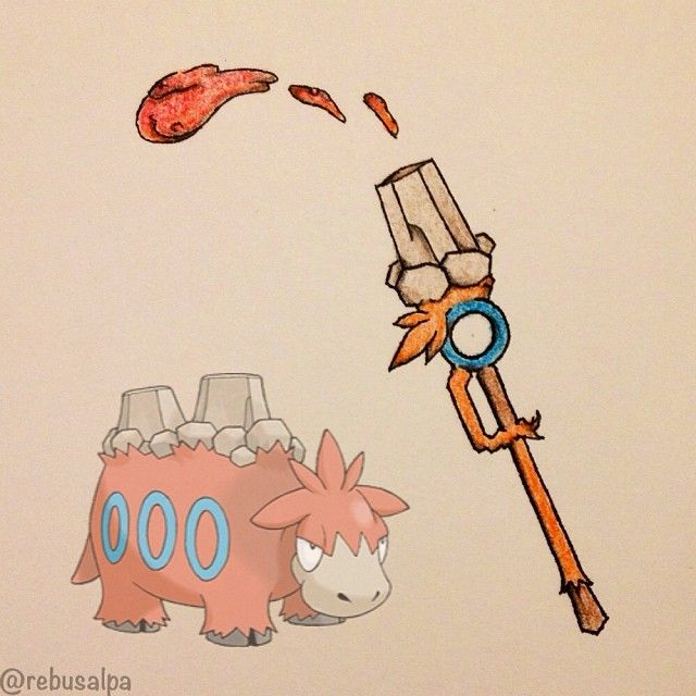 Pokeweapon No. 323 Camerupt. (Spear Cannon)