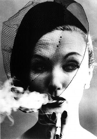 William Klein, Smoke & Veil, Paris (Vogue)