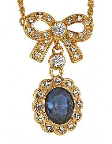 Sapphire Pendant with SWAROVSKI® ELEMENTS $45 (AUD)
