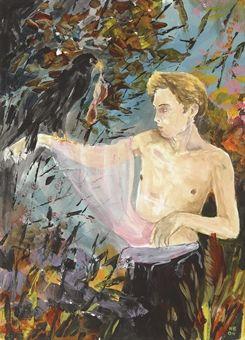 hernan bas art | Hernan Bas (b. 1978) | The Hunter | Post-War & Contemporary Art ...