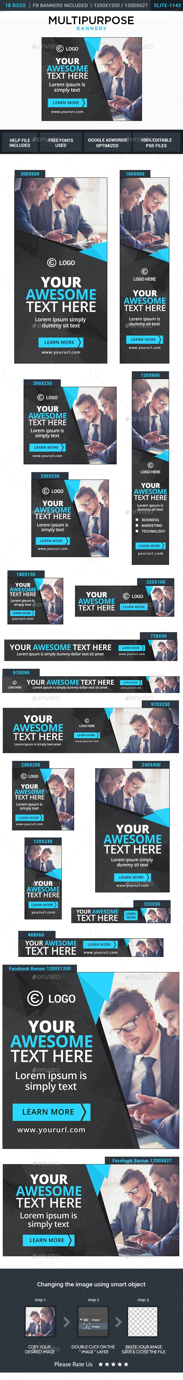 Multipurpose Web Banners Template PSD. Download here: http://graphicriver.net/item/multipurpose-banners/14816573?ref=ksioks