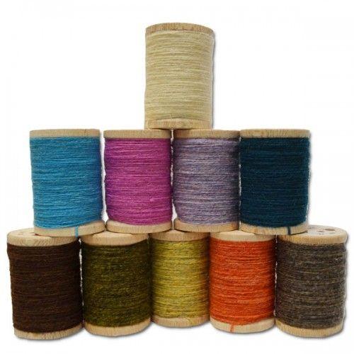 """Offre Spéciale de 10 Bobines """"Rustic Wool"""" de Quilt House"""