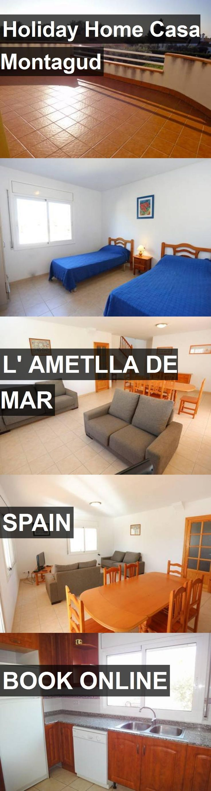 Hotel Holiday Home Casa Montagud in l' Ametlla de Mar, Spain. For more information, photos, reviews and best prices please follow the link. #Spain #l'AmetlladeMar #travel #vacation #hotel