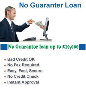 The no guarantor loans don't talk to for the personal guarantor! But definitely, you must ensure and confident about your lending wants ideal at first.