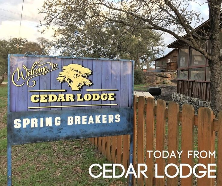 Are yall ready for #springbreak2018  Cuz we sure are here @cedarlodge_texas Looking forward to the best #spring season yet! Weve got #fishing #boating #grilling #swimming #kayaking and SO MUCH MORE! Visit the #best #family friendly #cabin rentals in #Texas at #cedarlodge  . . . . . #wednesday #vibes #texashillcountry #lake #lakelife #outdoors #vacation #getaway #outdoors #springbreak #nature #glamping #camping #fun