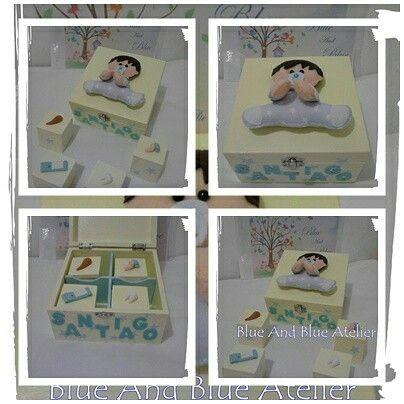 Caixa Recordações Bebé