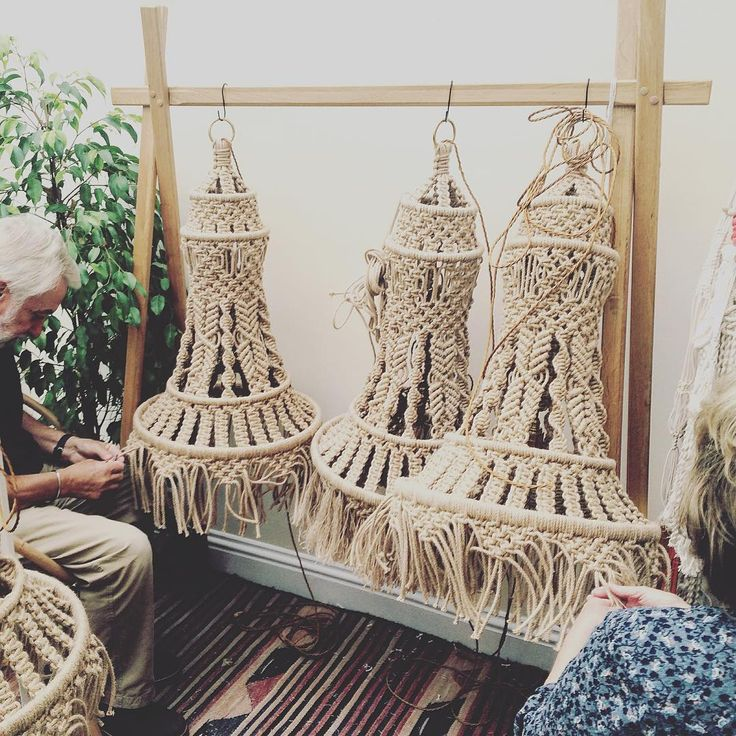 1279 best Macrame Lampshades images on Pinterest | Lamp ...