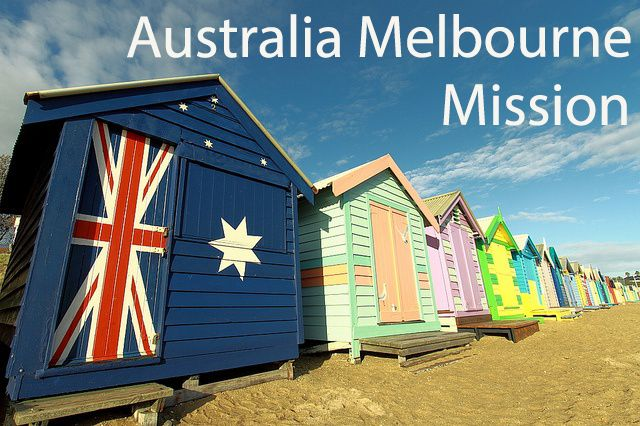 Come learn more about Australia Melbourne Mission!  Photo taken by Tim Phillips