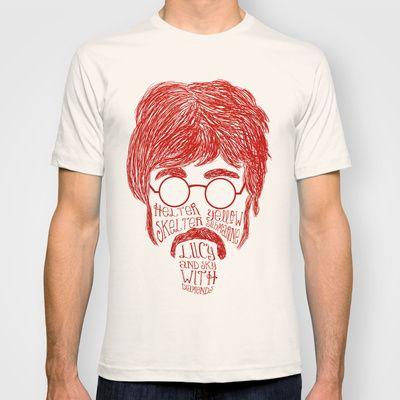 John Lennon T-shirt by Rafael Bosco - $18.00
